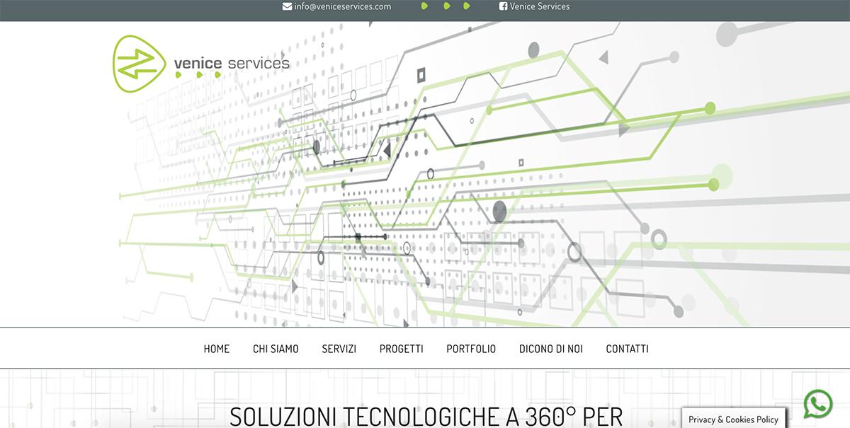Venice Services pink different siti web professionali Venezia-Treviso-Veneto
